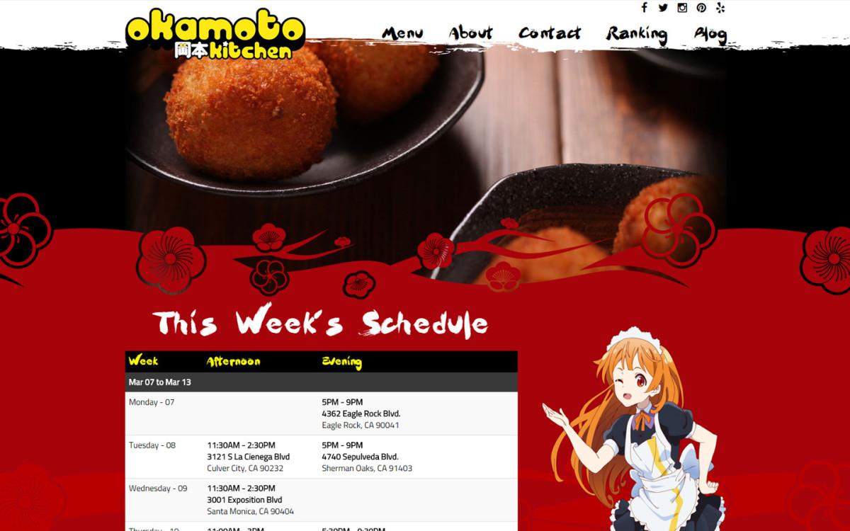 Okamoto kitchen anton vasilescu for Food truck design app